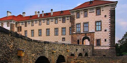 Zámek Nelahozeves - rodné místo Antonína Dvořáka